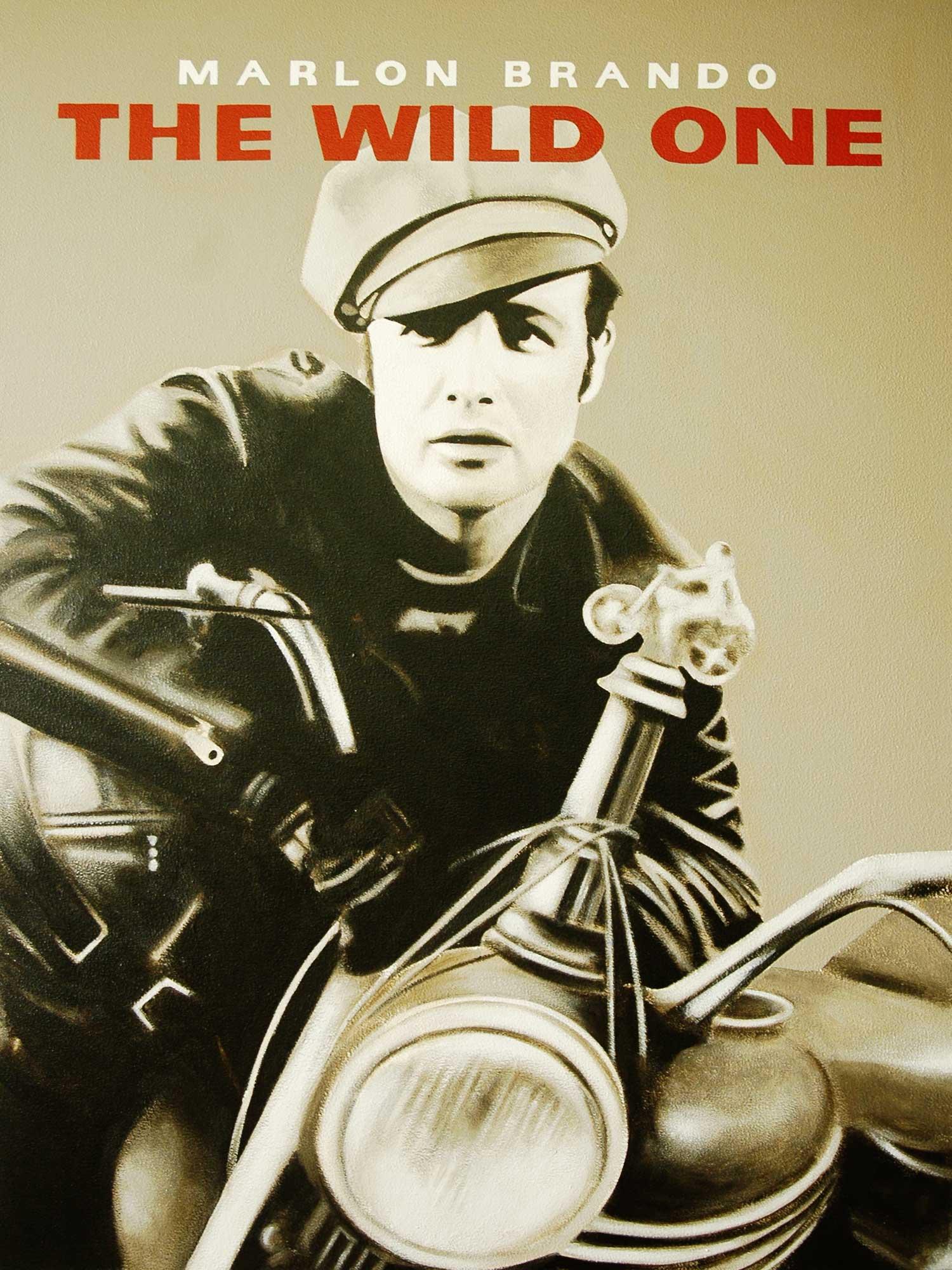 Marlon brando motorcycle jacket